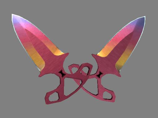 ★ Shadow Daggers | Fade (Minimal Wear)