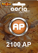 DDTank 2100 Aeria Points