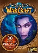 World Of WarCraft EU Prepaid Card 30 Days