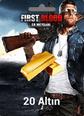 First Blood: Er Meydanı 20 Altın