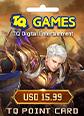 Conquer Online 1380 TQ Points Card
