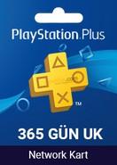 Playstation Plus Card 365 Days UK