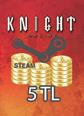 Steam Ko 5 TL Cüzdan