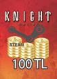 Steam Ko 100 TL Cüzdan