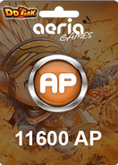 DDTank 11600 Aeria Points