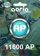 Grand Fantasia 11600 Aeria Points