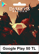 Google Play Darkness Reborn 50 TL