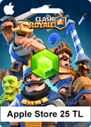 Apple Store Clash Royale 25TL
