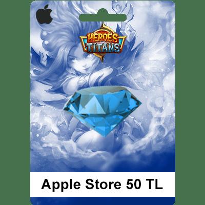 Apple Store Heroes Titans 50 TL
