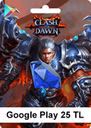 Google Play 25TL Clash of Dawn Android
