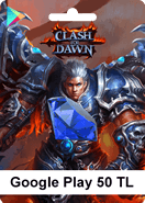 Google Play 50TL Clash of Dawn