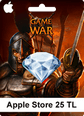Apple Store Game Of War 25TL