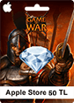 Apple Store Game Of War 50TL