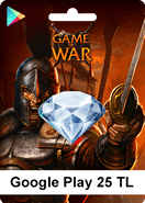 Google Play Game Of War 25TL