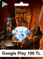Google Play Game Of War 100TL