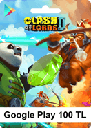 Google Play Clash Of Lords2 100TL