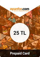 Oyunfor Prepaid Card 25TL