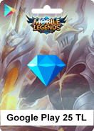 Mobile Legends Bang Bang Google Play 25 TL