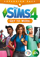 The Sims 4 Get to Work DLC Origin Key