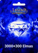 Legend Online Reborn 3000 + 300 Elmas