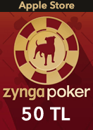 Zygna Poker Mobil Apple Store 50TL