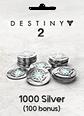Destiny 2 1000 (+100 Bonus) Silver
