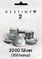 Destiny 2 2000 (+300 Bonus) Silver
