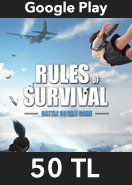 Rules of Survival Elmas Google Play 50 TL