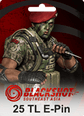 BlackShot SEA Papaya Play 25 TL Cash