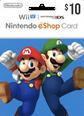 Nintendo eShop Gift Cards 10 Dolar