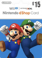 Nintendo eShop Gift Cards 15 UK