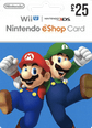 Nintendo eShop Gift Cards 25 UK