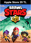 Brawl Stars Apple Store 25 TL Bakiye