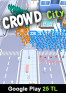 Crowd City Google Play 25 TL Bakiye