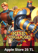 Rise Of Kingdoms Apple Store 25 TL Bakiye