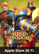 Apple Store 50 TL Rise Of Kingdoms