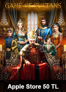 Game Of Sultans Taht-ı Saltanat Apple Store 50 TL Bakiye