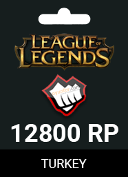 League Of Legends 12800 Riot Points