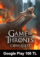 Game Of Thrones Conquest Google Play 100 TL Bakiye