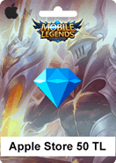 Mobile Legends Bang Bang Apple Store 50 TL
