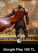 World Of Kings Google Play 100 TL Bakiye