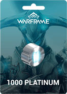 Warframe 1000 Platinum
