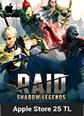 RAID Shadow Legends Apple Store 25 TL Bakiye