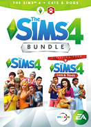 The Sims 4 Plus Cats & Dogs Bundle Origin Key