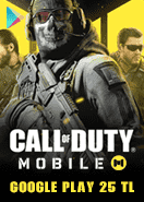 Call Of Duty Mobile (CP) Google Play 25 TL Bakiye