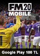 Google Play 100 TL Bakiye Football Manager 2020 Mobile