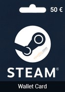 50 Euro Steam Wallet Card