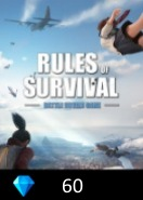 Rules of Survival 60 Diamonds