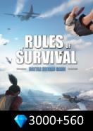 Rules of Survival 3000+560 Diamonds