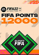 FIFA 22 ULTIMATE TEAM FIFA POINTS 12000 PC KEY
